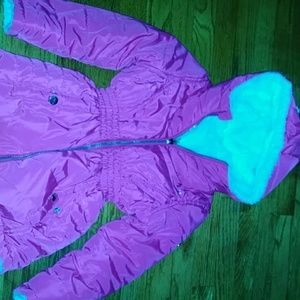Reversible DKNY coat - size 5/6
